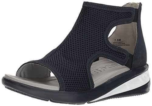 JSport by Jambu Women's Nadine Wedge Sandal Navy discount fast delivery fake cheap factory outlet new arrival sale online 0A5OAx1Mu