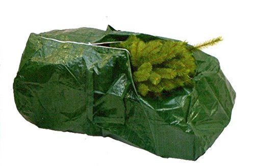 Bag for tree height max. 5 ft / 140 cm, green - Christmas tree bag / Storage bag - artplants by Artplants by Artplants