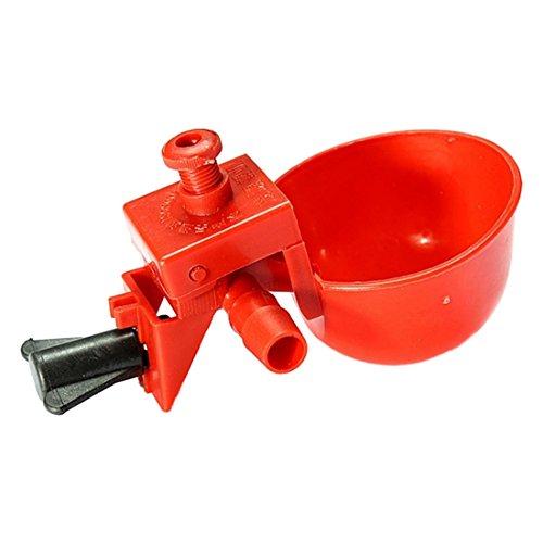 Gefluegeltraenke - TOOGOO(R) Futter automat Gefluegeltraenke Huehnertraenke Stuelptraenke Gefluegeltraenkeeimer
