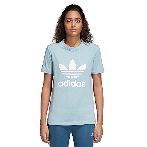 T Trefoil Grey bianco Donna Ash Adidas shirt 5Fpw0q