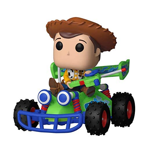 Funko 37016 Pop! Rides: Toy Story - Woody with RC, Multicolor