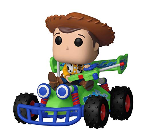 Funko 37016 Pop! Rides Disney: Toy Story - Woody with RC, Multicolor -