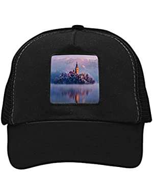 Unisex Rosy Bled Lake Adjustable Classic Hiphop Hat Baseball Cap Snapback Dad Hat