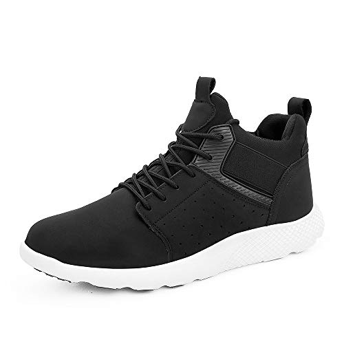 LYU LAM Mens Fashion Sneakers Comfortable Casual Sport Walking Shoes Lightweight Slip-On Chukka Boots