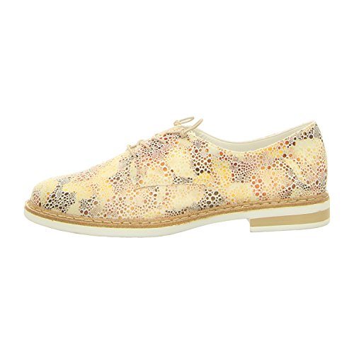 Rieker Tige Up Casual Womens Multi Chaussures White Lace 7w7xF