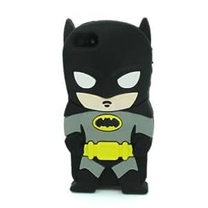 iPhone 6 Case, Maxbomi - 3D Cute Cartoon DC Comics Superhero Batman Arkham Knight Silicone Rubber Case for iPhone 6 4.7 inch