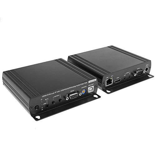 (cablematic. FR-Audio HDMI Extender IR USB RS232Cable and UTP Cat. 6Cat. 5e)