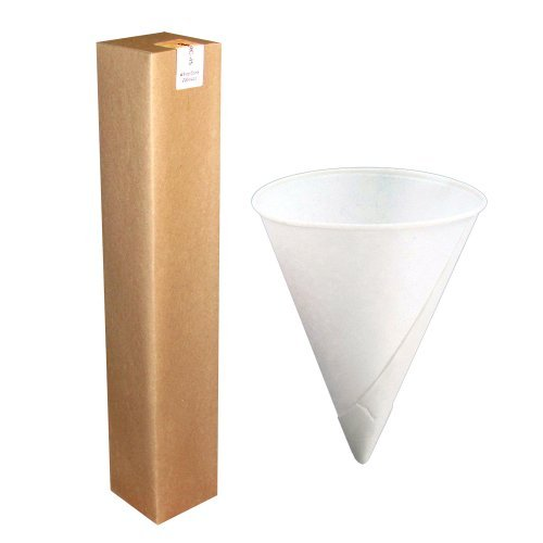 Igloo Paper Cone Cups 4.5oz Rolled Rim 1 sleeve of 200