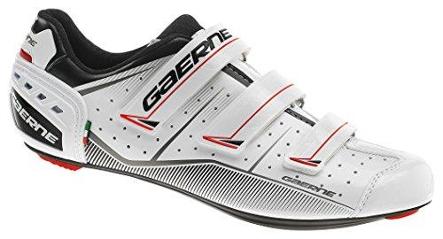 ラッドヤードキップリングブランチ豚肉gaerne(ガエルネ) シューズ ビンディング 自転車 ロードバイク Gレコード ホワイト 24.5 3288-004-245