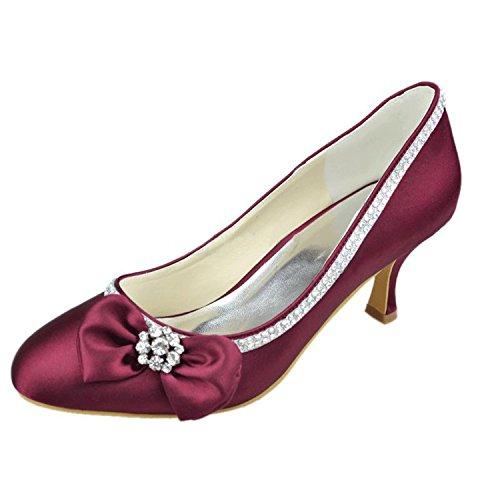 femme Chaussure Violet fashion de mariée Fashion Kevin XPqw70nC6X