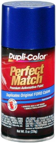 Blue Pearl Paint Auto - Dupli-Color EBFM03787 Sonic Blue Pearl Ford Exact-Match Automotive Paint - 8 oz. Aerosol