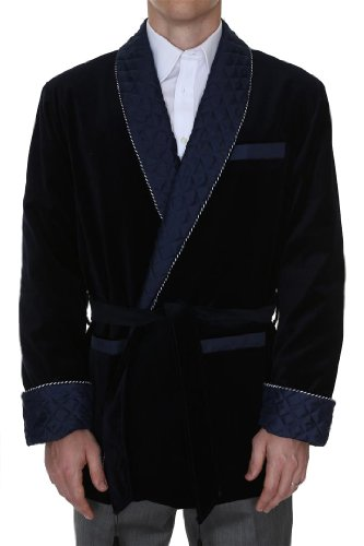 Mens-Smoking-Jacket-Bartholomew-Navy