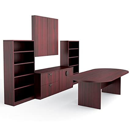 Amazoncom Offices To Go OTGLAYOUTEAML Meeting Room And - Conference table with storage