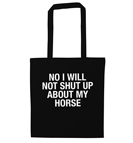 up No bag shut Black will tote not horse I my about wpqpnISZFr