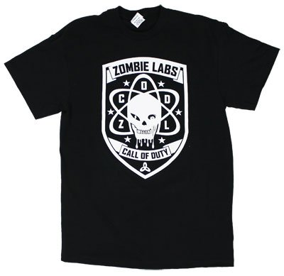 Zombie Labs - Black Ops T-shirt