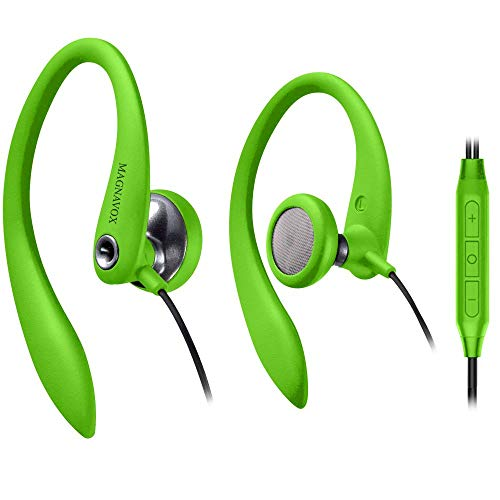 Over Ear Earbuds Wired, in Ear Earphones with Microphone, Sport Headphones for Running, Workout, Exercise and Gym by…