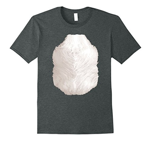 Quick And Easy Halloween Costumes For Teachers (Mens Halloween Animal Costume Raccoon Chest Hair Funny T-Shirt 3XL Dark Heather)