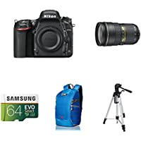 Nikon D750 FX-Format DSLR Camera with 24-70mm Lens AmazonBasics Accessory Bundles