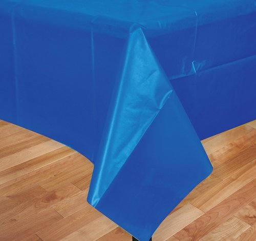 DollarItemDirect 54'' x 108'' Blue Table Cloth, Case of 144 by DollarItemDirect (Image #1)