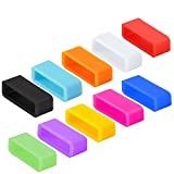 Dingtool Silicone Fastener Ring for Fitbit Charge/Charge HR/Fitbit Alta Wristband Strap Band (10pcs-Fitbit ALTA)