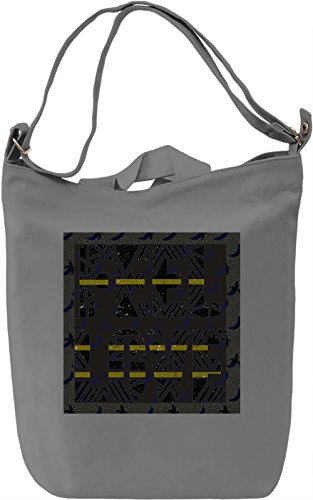 Feel Love Borsa Giornaliera Canvas Canvas Day Bag| 100% Premium Cotton Canvas| DTG Printing|