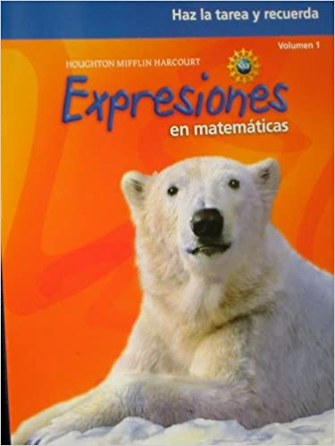 Math Expressions Spanish: Homework & Remembering Workbook, Volume ...