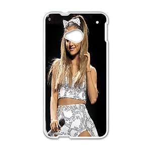 HTC One M7 Phone Case White ariana ZCC598419