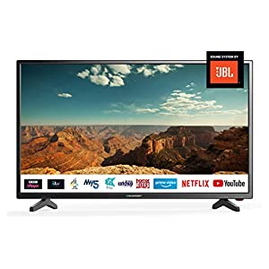Blaupunkt BLA-40/138Q-GB-11B4-FEGPF-UK 40 Inch HD Ready Smart LED TV with Freeview Play,3 x HDMI, USB Record