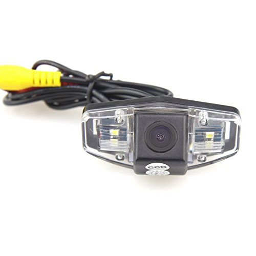 AupTech CCD Rear View Camera Waterprooof High Definition Night Vison Reverse Camera NTSC Backup Parking Camera With RCA Video Cable for Acura MDX RDX CSX ILX ZDX RL TSX