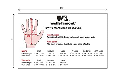 Wells Lamont Women's Ultra Comfort Suede Leather Glove with Spandex Back