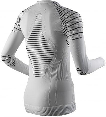 Donna X-Bionic Lady Invent Uw Shirt Long/_Sl Bianco//Nero S