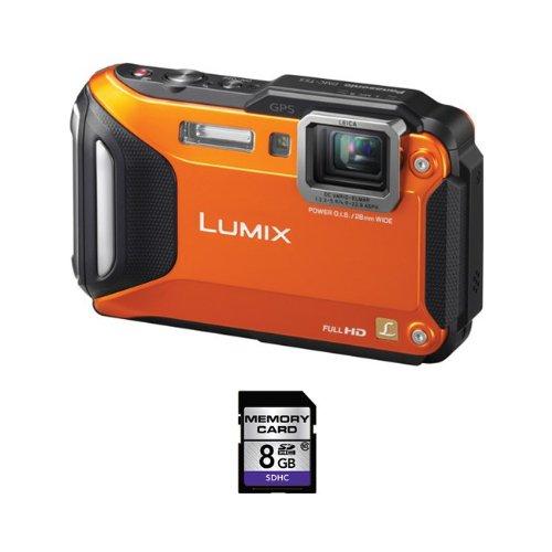 Panasonic Lumix DMC-TS5 16.1 MP Digital Camera + 8GB SDHC Ca