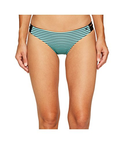 Junior Driving Suits - Hurley Women's Quick Dry Stripe Surf Bottoms Washed Teal Swimsuit Bottoms