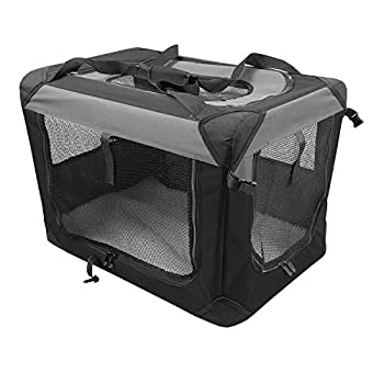 Image of Iconic Pet Multipurpose Pet Soft Crate with Fleece Mat Pet Supplies