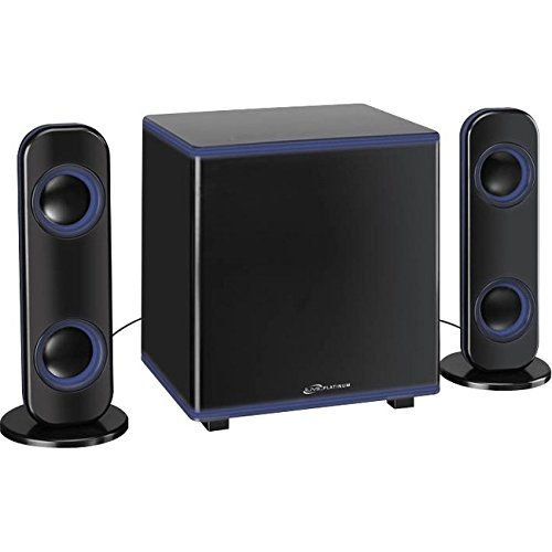 iLive Powered Wireless Speaker System (Pair) Black IHB26B