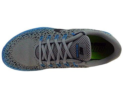 Nike Mens Gratis Rn Afstand Schild Loopschoenen Wolf Grijs / Zwart / Donkergrijs