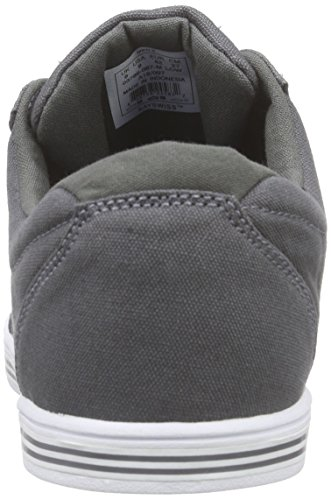 K-Swiss Set Court CVS, Men's Low-Top Sneakers Grey (Charcoal/White)