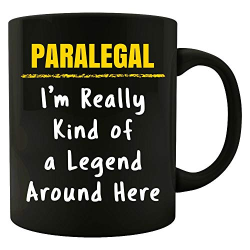 Paralegal Really Kind of a Legend Sarcastic Funny Saying kw1 Job Gift - -