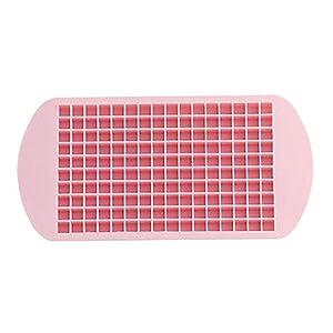 Fablcrew. 160 vaschetta per Ghiaccio Quadrata in Silicone Size 23.5 * 11.9 * 1.2cm 3 spesavip