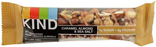 Kind, Bar Caramel Almond Sea Salt, 1.4 Ounce