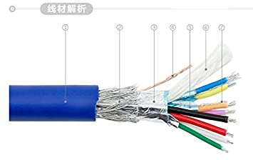 Cable Length: 150cm, Color: Blue Computer Cables High Speed Blue USB 3.0 Cable A Type Male to Male USB Extension Cable AM to AM 50cm 1m 180cm 4.8Gbps Support USB2.0