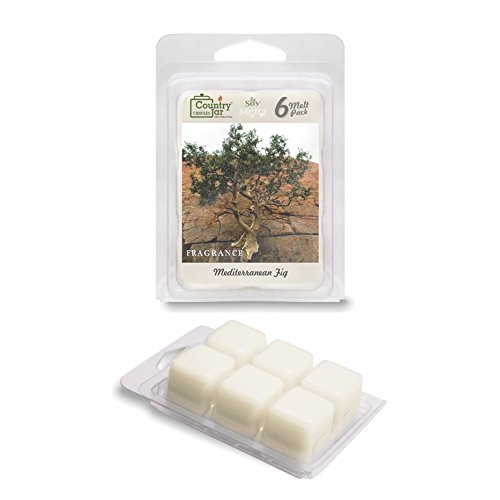 Country Jar Mediterranean FIG Soy Wax Melts/Tarts (2.75 oz. 6-Cube Pack) Spring Pick-3 Sale! See Details.