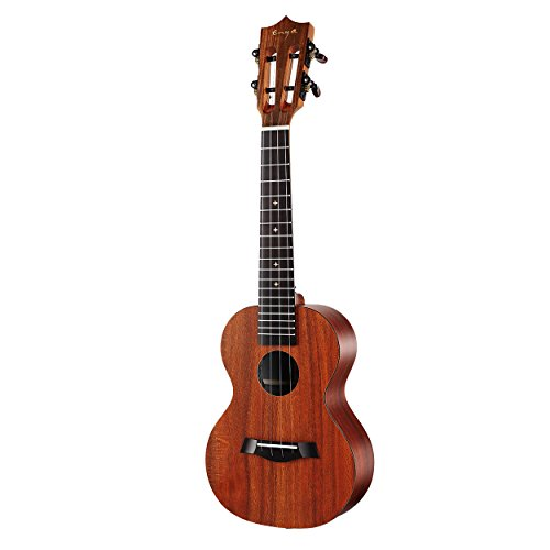 Enya X1 KOA Patterned HPL Ukulele with gig Bag,Tuner, Strap,Capo,String, Tenor (TX1