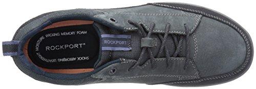 Rockport Menns Rydley Snøring Mote Sneaker Nye Kjole Blues