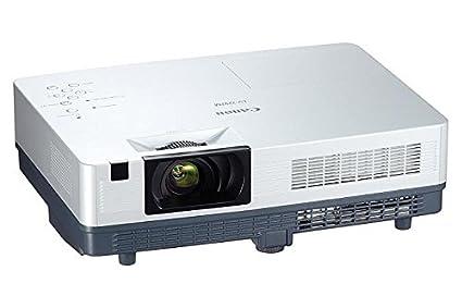 Canon LV-7297M - Proyector XGA (2600 lúmenes ANSI), gris y blanco ...
