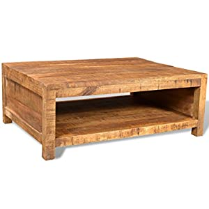 Antique Style Mango Wood Coffee Table