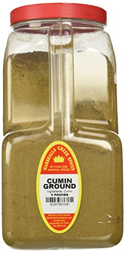 Marshalls Creek Spices Cumin Ground, XX-Large, 5 Pound by Marshall's Creek Spices