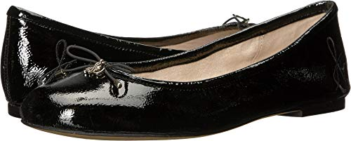 - Sam Edelman Women's Felicia Ballet Flat, Black Patent, 9.5 W US