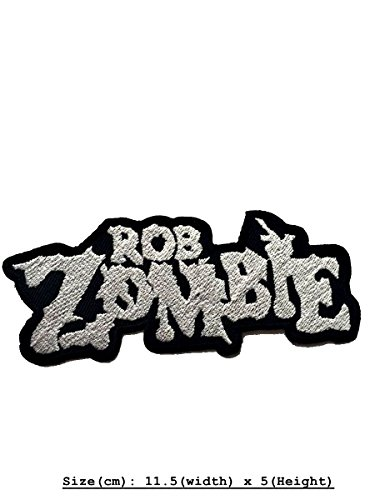 Price comparison product image Rob Zombie DIY Metal Punk Rock Music Band Indy Retro Embroidered Iron Sew On Patch