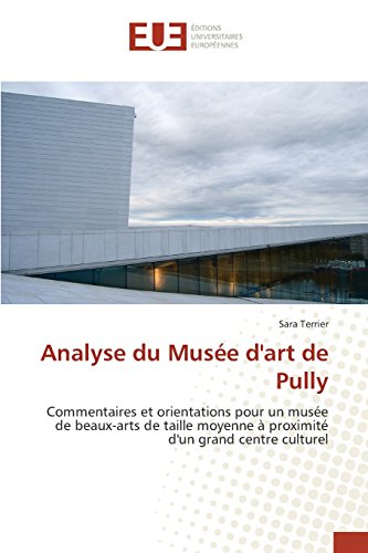 Analyse Du Musee D'Art de Pully